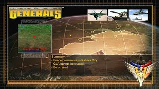 Command & Conquer : Generals - USA Mission 5 (Brutal)