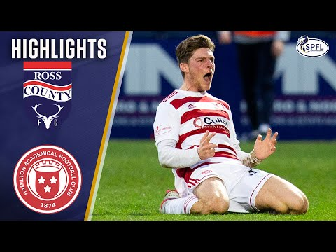 Ross County Hamilton Goals And Highlights