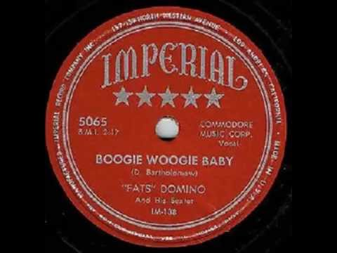 Fats Domino - Boogie Woogie Baby - January 7, 1950