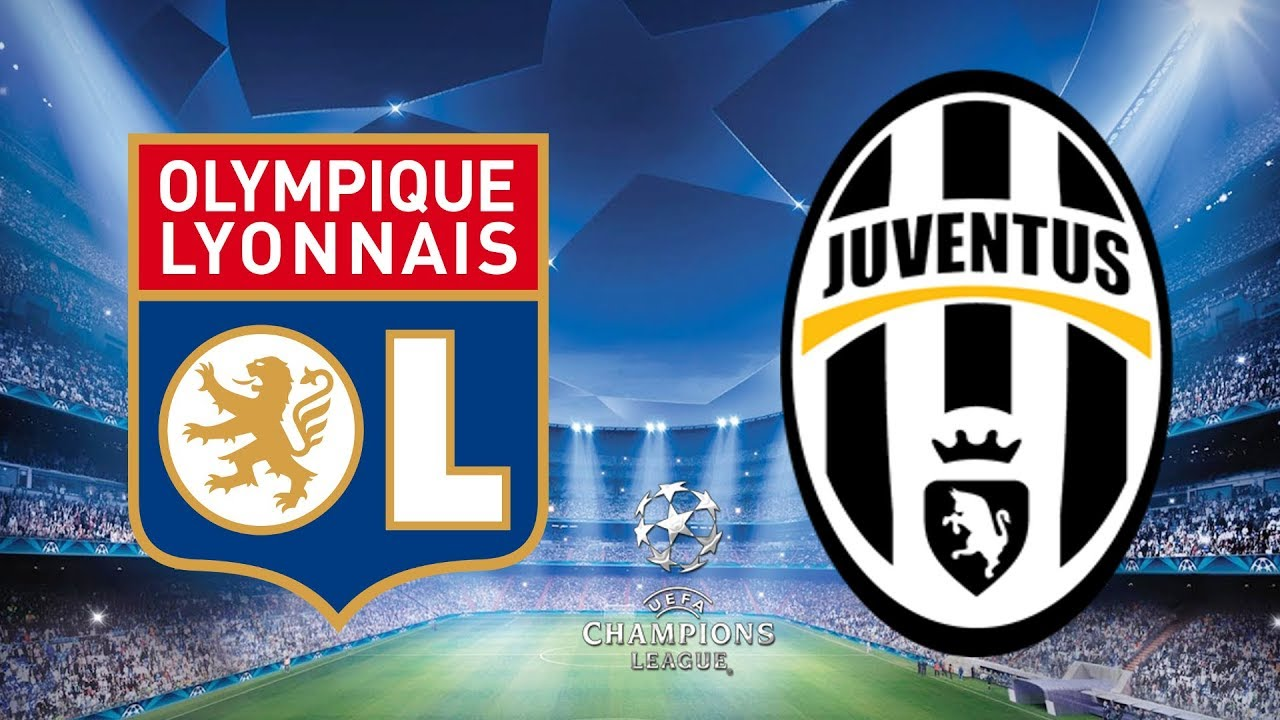 Image result for Juventus vs Lyon  Champions League Round of 16