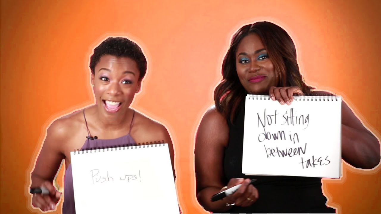 Danielle Brooks and Samira Wiley From OITNB Play The BFF Game ...