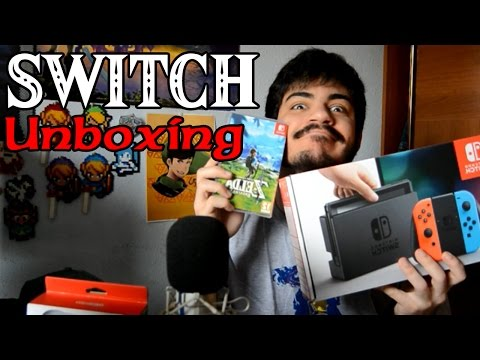NINTENDO SWITCH + BREATH OF THE WILD UNBOXING