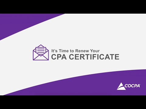 It's Time to Renew Your Colorado CPA Certificate  |  Colorado Society of CPAs