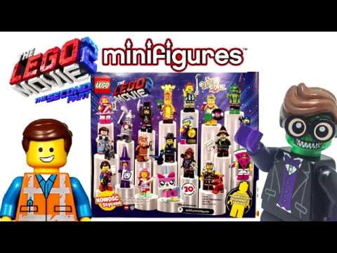 The Lego Movie 2 Collectible Minifigures 2019 Youtube