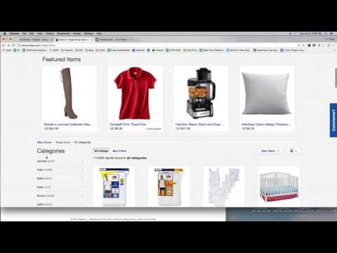 Target, Distribution, and ebay Drop Shipping Using Retailers