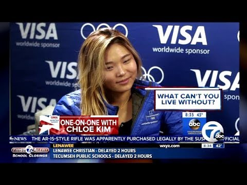 "Chloe Kim ""Cutely"" Answers 9 Rapid Fire Questions - GMA"