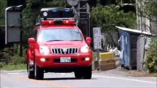 富士山山岳救助事案に向かう静岡県警山岳救助隊・富士宮消防山岳救助隊 thumbnail