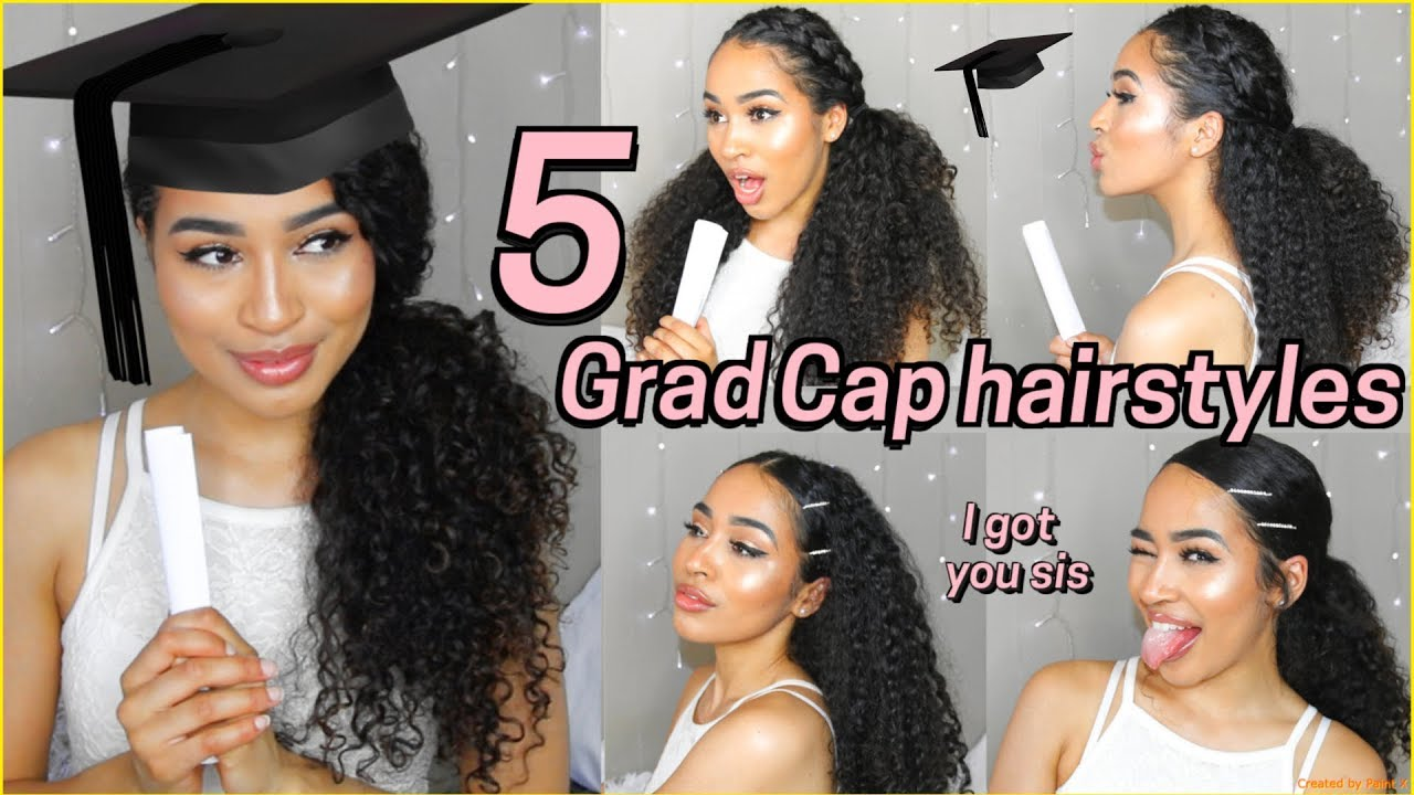 5 best graduation hairstyles for curly hair - lana summer