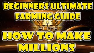 Ultimate Money Guide - Elite:Dangerous - Ultimate Money MAKING - How to make MILLIONS - Beginners