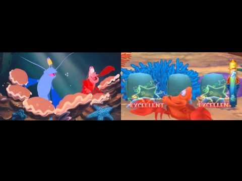Under The Sea: The Little Mermaid Film vs Kingdom Hearts Final Mix +