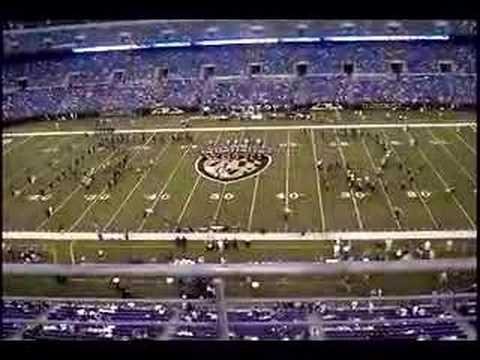 Marching Ravens Pregame