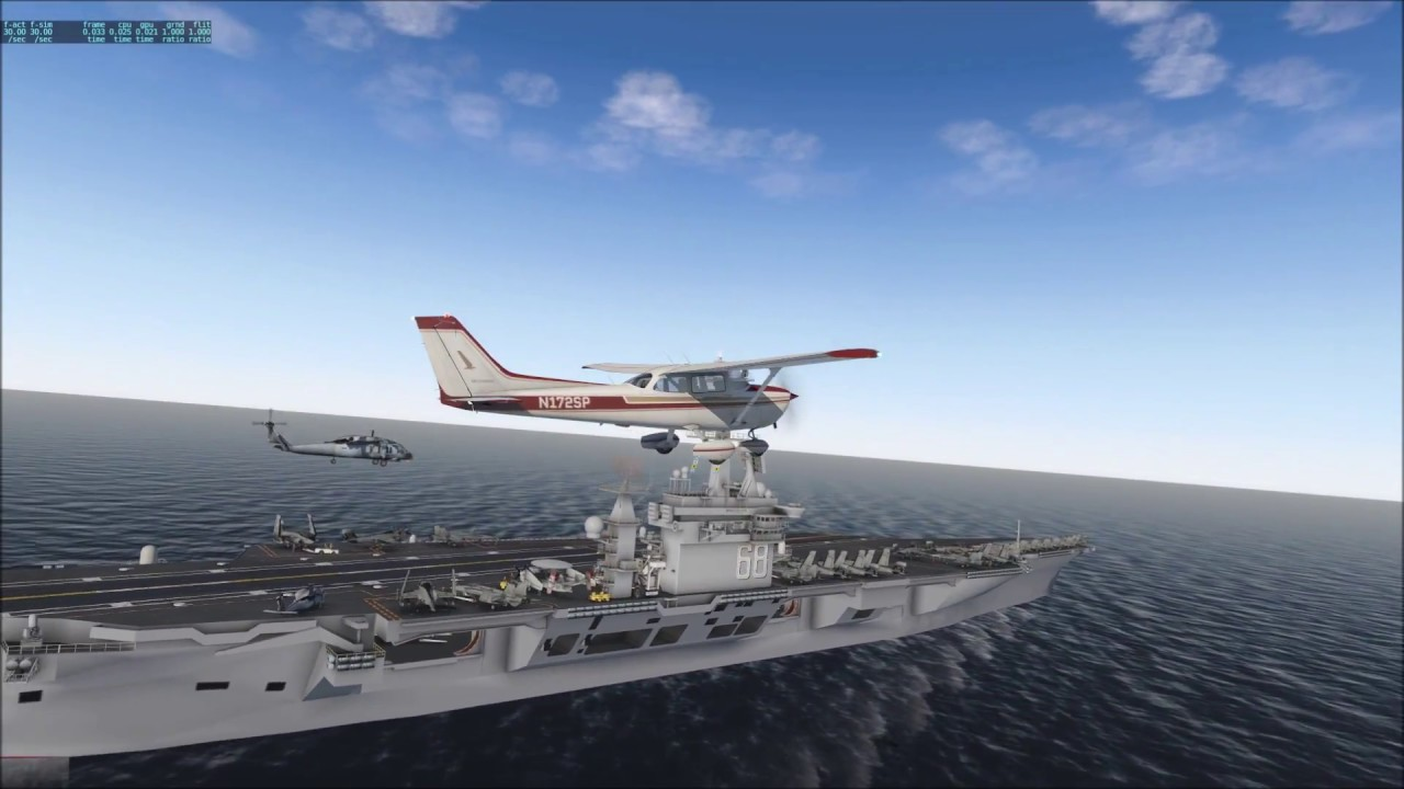 Cessna Aircraft Carrier Landing - YouTube