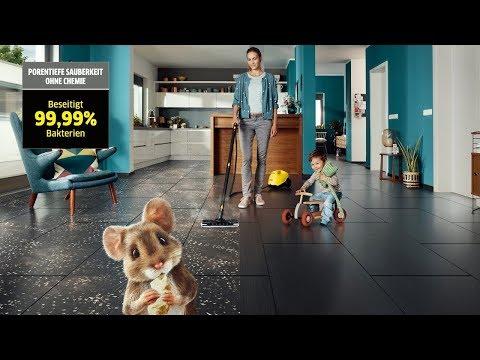 Kärcher Dampfreiniger - TV-Spot - Funktion