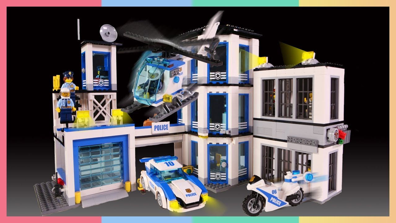 Lego City Police Station 60141 Lego City Kantor Polisi Kids Toys Mainan Anak Youtube