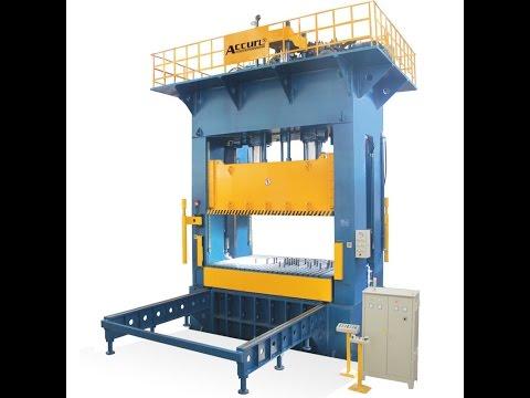H Frame SMC Hydraulic Press 2000 tons | SMC Moulding Hydraulic Press | BMC Compression Molding Press