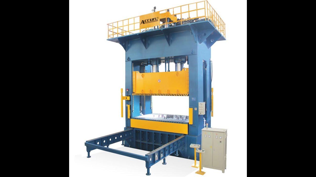 H Frame Smc Hydraulic Press 2000 Tons Smc Moulding