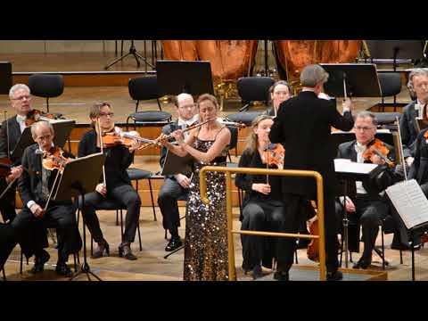 Marina Piccinini Plays Nielsen Flute Concerto - Wiener Symphoniker/Saraste