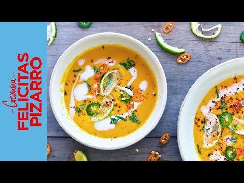 Sopa de Zanahoria & Batata | Felicitas Pizarro