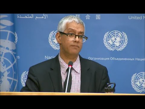Noon briefing by Farhan Haq, Deputy Spokesman for the Secretary-General.  Daily Press Briefing: Syria, Afghanistan, Afghanistan Humanitarian, Somalia, Honour Roll    HIGHLIGHTS:   - SYRIA  - AFGHANISTAN  - AFGHANISTAN HUMANITARIAN  - SOMALIA  - HONOUR ROLL    Full Highlights available: https://www.un.org/sg/en/content/noon-briefing-highlight?date%5Bvalue%5D%5Bdate%5D=13%20August%202018