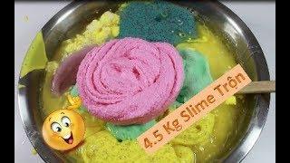 #2 Trộn 8 Hủ Slime Ra 4.5 Kg Slime Trộn - Sẽ Ra Màu Gì Và Chất Gì Đây 😁