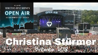 Christina Stürmer - LIVE @ Mercedes Benz Open Air Bremen 11.8.2018 (9 COMPLETE SONGS)