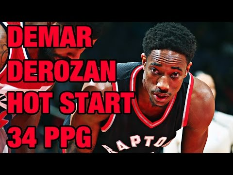 DeMar DeRozan Hot Start to Season | Highlights from 1st Nine Games!
