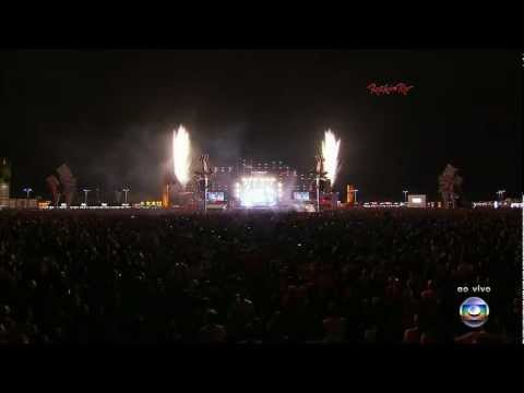 Coldplay (HD) - Fix You (Rock In Rio 2011)