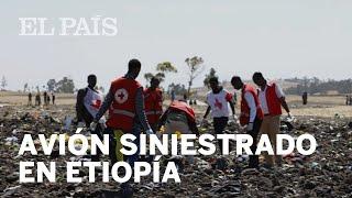ACCIDENTE AVIÓN ETIOPÍA | Mueren los 157 ocupantes de la nave siniestrada