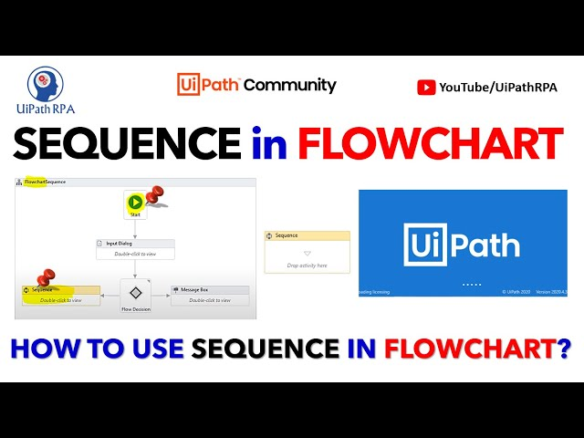 How to use Sequence in Flowchart in UiPath|UiPath Sequence |UiPath RPA Tutorial in Hindi