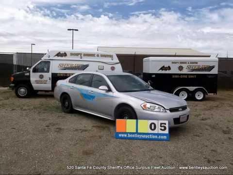 Bentley's Presents: 520 Santa Fe County Sheriff's Office Surplus Fleet Auction