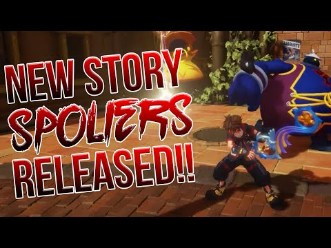 NEW KINGDOM HEARTS STORY SPOILERS OFFICIALLY RELEASED!