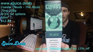 Coastal Clouds - The Abyss Ejuice Review!!