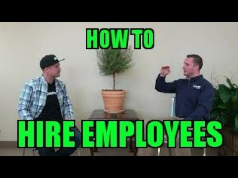 How To Hire and Retain Employees? Interview with