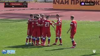 Голы в матче Россия U 20 Ротор Волгоград 2 2 2 0