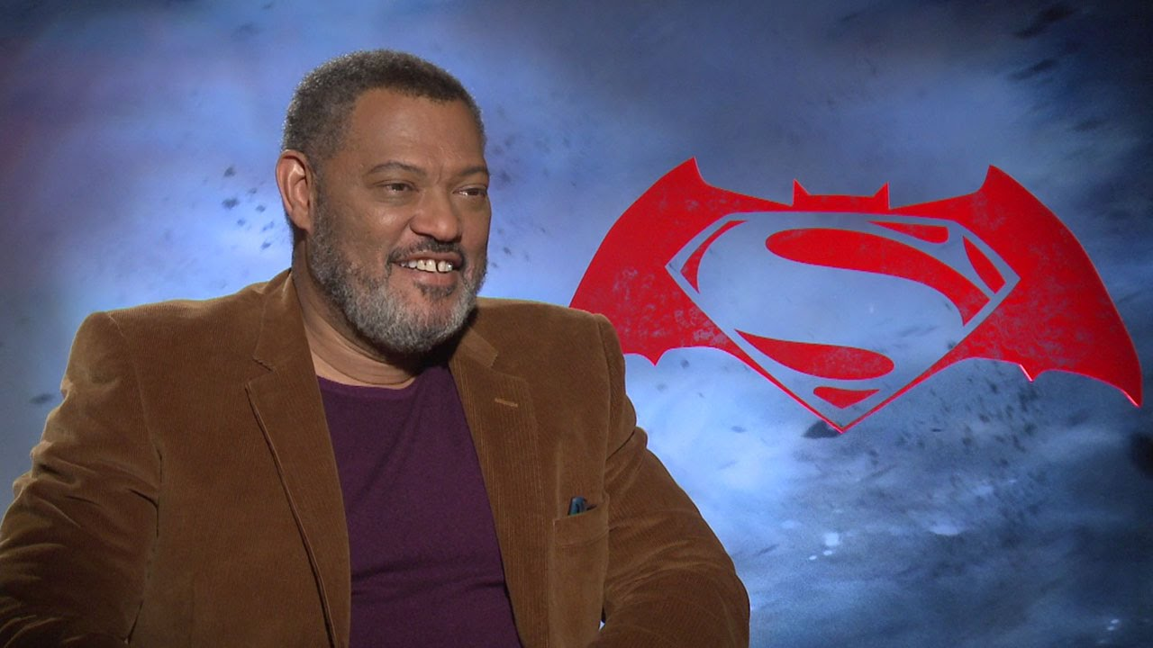 Laurence Fishburne Talks Justice League/BvS Martha Scene
