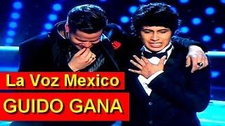 Guido Ganador de La Voz Mexico 2014 Guido Gana 14 Diciembre 2014