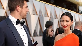 EXCLUSIVE: Aw! Aaron Rodgers Took Care of Olivia Munn's Glam Team on Oscars Morning