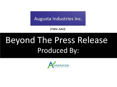 Augusta (AAO:TSX-V) Real Blockchain In A Real Company With Real Data and Real Revenues