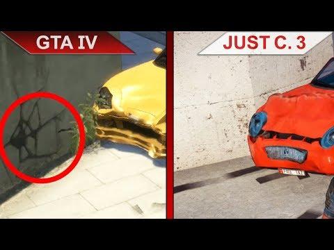 THE BIG GTA IV vs. JUST CAUSE 3 SBS COMPARISON   PC   ULTRA