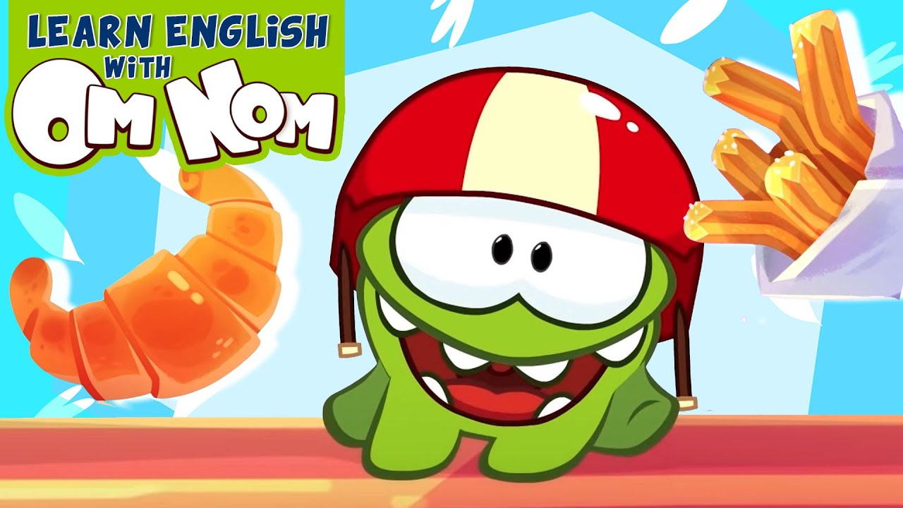 Om Nom Cafe -  Tasty Sweets From Around The World   Kindergarten Learning Videos For Kids