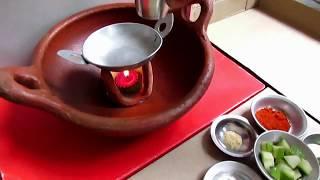 Spicy Miniature Mango Pickle | Mini Food in Kids kitchen set