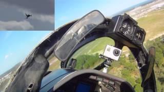 A-4 Skyhawk Tico Warbird Airshow 2014 w/Onboard Video