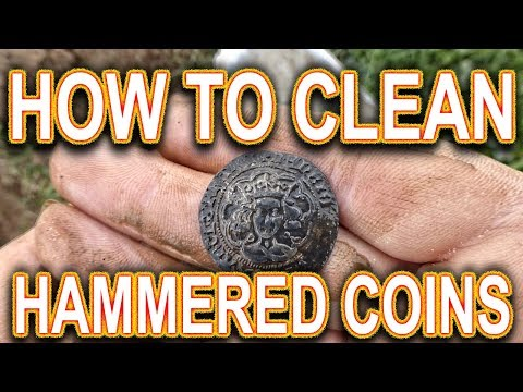 How To Clean Hammered Coins