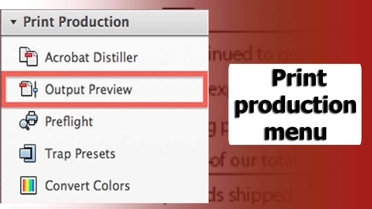 Pdf tutorial where is the print production menu in adobe acrobat pdf tutorial where is the print production menu in adobe acrobat pro reheart Choice Image