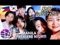 Rampant(창궐)'s Movie Premiere in Manila! | EL's Planet