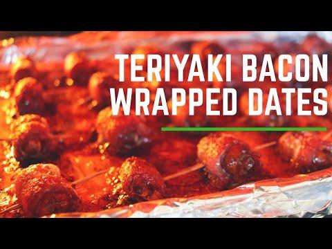 Teriyaki Bacon Wrapped Dates    Recipe