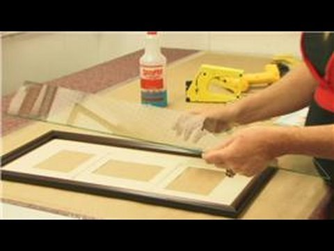 Framing : How to Make a Collage Frame - YouTube