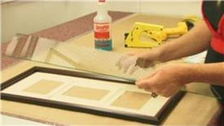 Framing : How to Make a Collage Frame