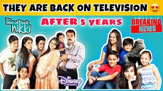 They are back on television🔥   best of luck nikki   oye jassie   breaking news  DISNEY INDIA
