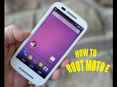 Root Moto E in easy steps